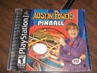 Austin Powers Pinball  (Sony PlayStation 1, 2002) PS1 video game games