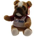 TY Beanie Baby - DAD 2007 the Bulldog (Internet Exclusive) (7 inch) - MWMTs