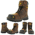 CAT Caterpillar Mortise 8 Mens Composite Toe Leather Work Boots
