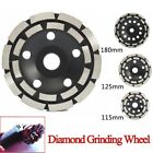 Diamond Grinding Disc Double Row Millstone Brick Concrete Cut Angle Grinder
