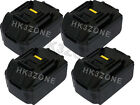 4x 3A BATTERY for Makita BKP180K BKP180 18v LXT Planer Lithium Ion Cordless