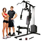 Marcy Club MKM 1101 Home Multi Gym 54kg Stack Lat Pulldown Chest Press Row