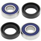 KTM SR Adventure 50, 2002-2003, Front Wheel Bearings and Seals - Senior