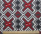 SNUGGLE FLANNEL SOUTHWEST AZTEC BLANKET DESIGN 100 Cotton FabricBTY