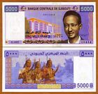 Djibouti 5000 Francs ND 2005  P 44 UNC  Colorful native dancers