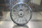1991 SUZUKI INTRUDER 1400 VS1400GLP FRONT WHEEL RIM HUB SPOKES 19X2.15 RIM BENT