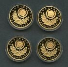 KOREA 1988 SEOUL OLYMPIC SILVER & GOLD PROOF COINS SET OF 20 IN ORIGINAL CASE