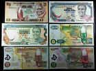 COLLECTION OF 6 ZAMBIA BANKNOTES - 5, 10, 20, 500, & 1000 KWACHA