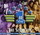 Various Artists - Seventies - 40 #1 Hits - Various Artists CD W3LN The Fast Free