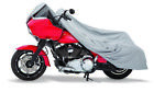 Harley Davidson Dyna Wide Glide  Softail Grey Superweave Motorcycle Cover