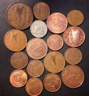 Old Ireland Punt Coin Lot - 1941-PREEURO - 17 Great Coins - Lot #718