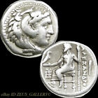ALEXANDER the Great Herakles LIFETIME Ancient Greek Silver Drachm Coin Club 2550