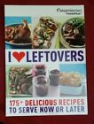 Weight Watchers Cookbook I Love Leftovers Points Plus 175 Easy Recipes 2012 pb