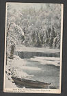 POST CARD POTTER PLACE NEW HAMPSHIRE 1913 BLACK WATER RIVER WINTER