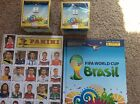 2014 Panini World Cup Sticker Hardcover Album New Update Set (2) Boxes 100 Packs