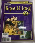 Bob Jones University Spelling 2 Home Teachers Edition BJU Press