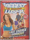 BIGGEST LOSER WORKOUT Last Chance Workout DVD 2009 WITH INSERT