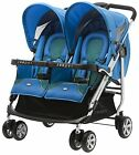 Zooper 2011 Tango Twin Stroller In Ocean Blue New!!