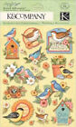 K  Company Susan Winget SPRING BLOSSOM BIRDS Dimensional Stickers Scrapbooking