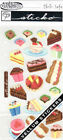 EK Success Sticko PETITE PASTRIES DESSERTS Vellum Stickers Scrapbooking