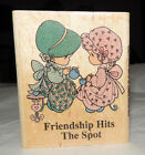 Rubber Stamps PRECIOUS MOMENTS Friendship Hits The Spot Tea Time