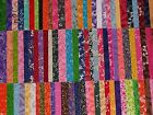 50 5 Fabric Squares Quilting 5X 5Charm Pack Blocks Quilt Patchwork Cotton Lot