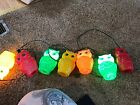 VINTAGE  BLOW MOLD OWL RV PATIO AWNING STRING PARTY LIGHTS LITES