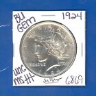 1924 P BU GEM PEACE SILVER DOLLAR COIN 6869 UNC MS+++ US MINTRARE