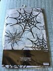 Halloween Spider Spider Web Flannel Back Table Cover New