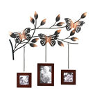 Bouncy Butterfly Wall Mount Wood Photo Frame Picture Holder