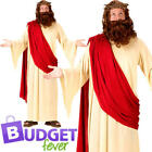 Jesus Mens Fancy Dress Nativity Easter Religious Saints  Sinners Adults Costume