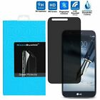 Anti Spy Peeping Privacy Tempered Glass Screen Protector For LG G Stylo 3 PLUS