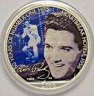 2006 1 American Eagle Silver Dollar Colorized Elvis Presley COA Box