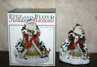 Christmas FITZ & FLOYD Winter Holiday Stanta Musical O' Holy Night MINT In Box