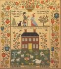 NEEDLES AND PINS COLONIAL STYLE WEDDING SAMPLER THERON TRADITIONS CROSS STITCH