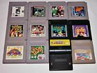 Lot of 12 Nintendo Gameboy Games - Pokemon Tetris Flintstones Kirby Pinball