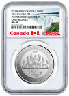 2017 Canada Voyageur Special Edition 1 oz Silver 5 150th NGC MS69 ER SKU49131