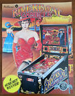 Original Williams RIVERBOAT GAMBLER Pinball Flyer