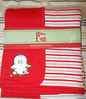 NIP Target Penguin Coverall Bodysuits Blanket Hooded Towel 0 3 Months Christmas