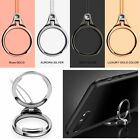 Finger Grip Rotating Metal Ring Stand Holder Straps Strings For iPhone Samsung