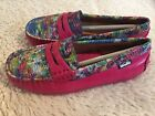 Venettini Girls Leather Moccasin Gordy Shoes Size 10 27 New Pink