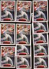 2012 TOPPS BRYCE HARPER RC ROOKIE CARD LOT (12) LEG UP VARIATION #661