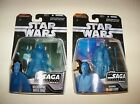 Retired nisp Star Wars Jedi OBI WAN KENOBI Sith DARTH MAUL Hologram Figure Lot
