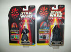 Retired nisp Star Wars Episode I SITH LORD warrior DARTH MAUL action Figure Lot