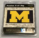 MICHIGAN WOLVERINES M 3X5 FLAGPOLE BANNER FLAG FREE SHIPPING