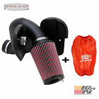 KN COLD AIR INTAKE FOR 03 07 DODGE RAM CUMMINS DIESEL 59L WITH RED FILTER WRAP