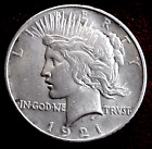 1921 PEACE SILVER DOLLAR MIN BID 01  NO RESERVE