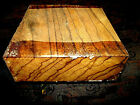 NICE KILN DRIED ZEBRAWOOD BOWL PLATTER BLANK LATHE TURNING BLOCK 10 x 10 x 2