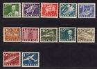 $Sweden SC#251-62 MNH VF Partial Set, CV $250.00