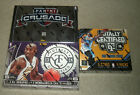 2013-14 AND 2015-16 Panini Totally Certified sealed basketball hobby 2-box lot
